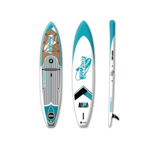 Надувная доска для sup серфинга Stormline Power Max 9.6