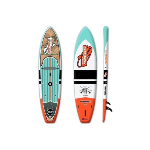 Надувная доска для sup серфинга Stormline Power Max 10.1