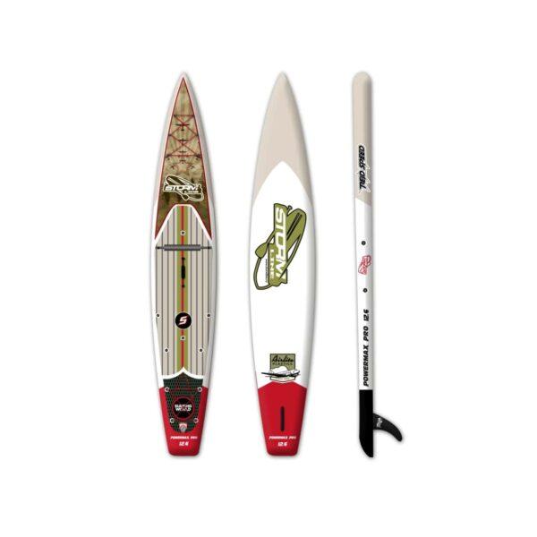 Надувная доска для sup серфинга Stormline Power Max PRO 12.6